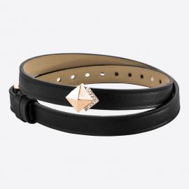 Bracelet GRAND VOYAGE 8DT Black IPR