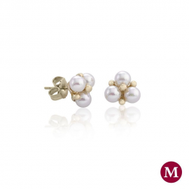 Majorica Earrings TU Y YO 15297.01.1.000.010.1