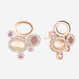 Earrings GALETS Rose RO SER02003