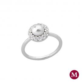 Majorica FINE SILVER ring