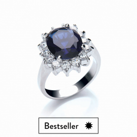 Katherine Royal Blue Ring