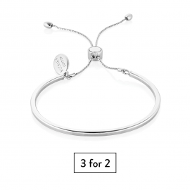 Piccadilly Bangle - Silver