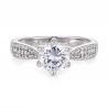 Vintage Style Solitaire Ring