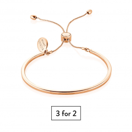 Piccadilly Bangle - Rose Gold