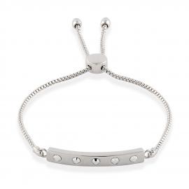 London Rocks Friendship Bracelet - Silver