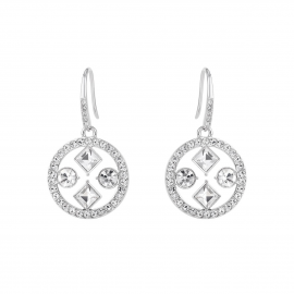 Kensington Disc Drop Earrings