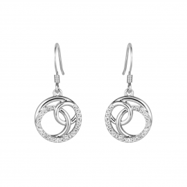 Bayswater Disc Drop Earrings Model E2219