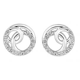 Bayswater Disc Stud Earrings Model E2220