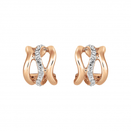 Bayswater Hoop Earrings - Rose Gold Model E2228