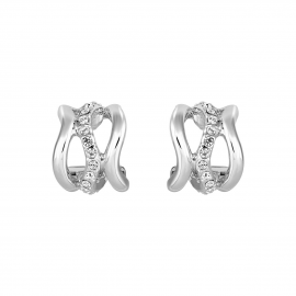 Bayswater Hoop Earrings - Silver Model E2229