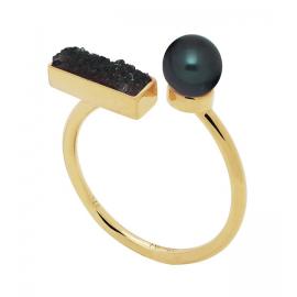 Ring GINGER Black