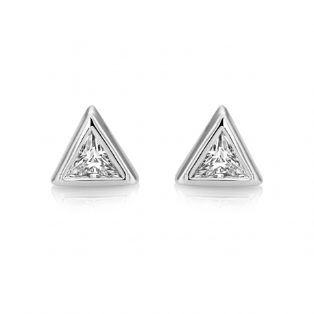 earrings cut products logan diamond trillion jewelry baby hollowell earring yg sister stud