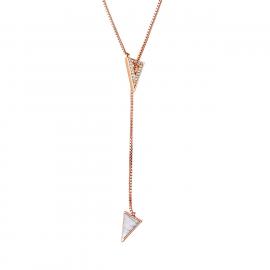 Hackney Lariat Necklace Model GN1124