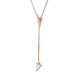 Hackney Lariat Necklace Model GN1124