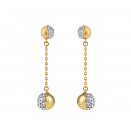 Buckley London Greenwich Long Drop Earrings Model E2177